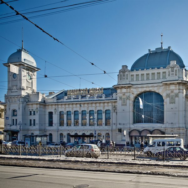 Stazioni dei treni a San Pietroburgo